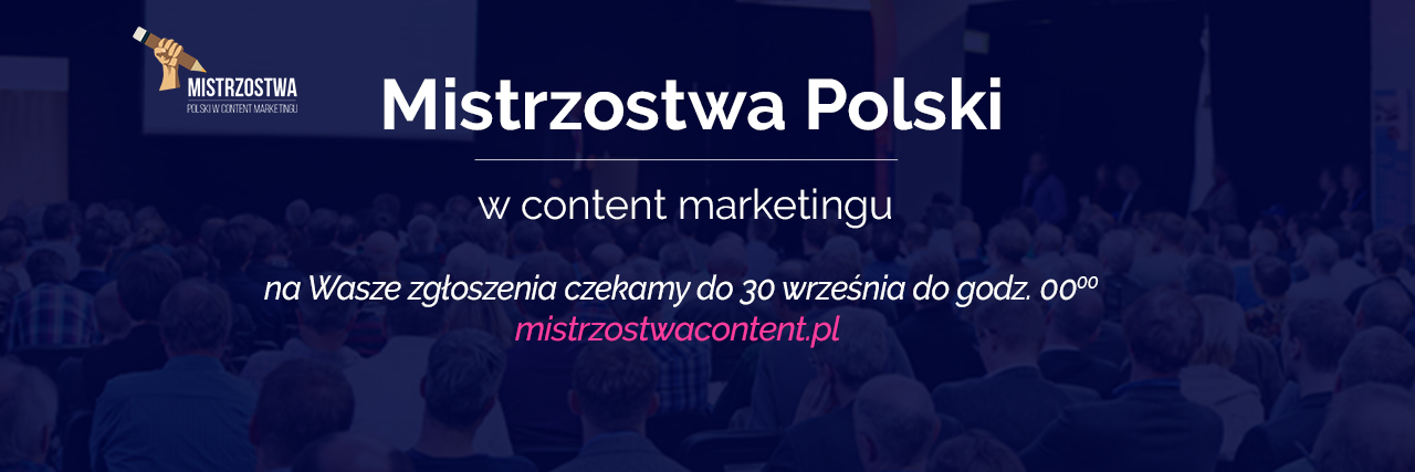 Mistrzostwami Content Marketingu